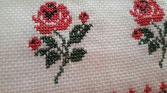 Leaf Tattoos, Cross Stitch, Embroidery, Crochet, Flowers, Cross Stitch Borders, Embroidered Towels, Nooks, Craft