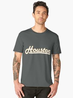 1299a3fc Houston - Harlow Solid Italic von NafetsNuarb Rundhals Shirt, V Neck T Shirt,  Tequila