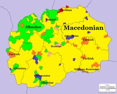 - Languages of Macedonia.