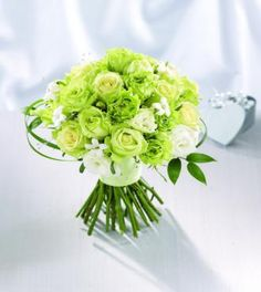 Looks like most green flowers are a lime color. Well that is helpful! =)