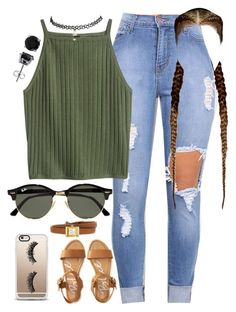 """8.14.16"" by mcmlxxi ❤ liked on Polyvore featuring Aéropostale, Ray-Ban, Casetify, Gucci, Wet Seal and BERRICLE"