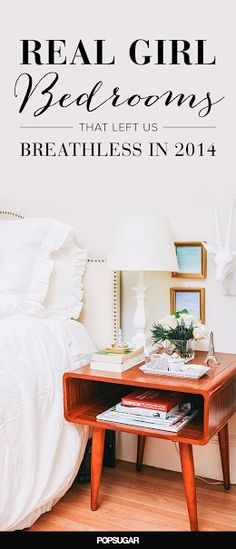 See how these stylish real girls style their bedrooms!