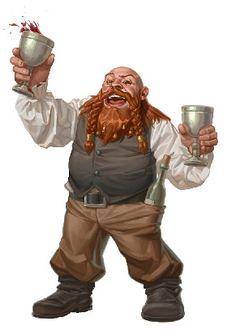 Haedrig Stoneward, proprieter of the Bristled Boar Tavern in Falworth