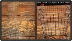 DIY wire baskets/locker baskets (HoH93)