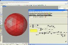 Geodesic Dome in Rhino-Grasshopper by Chris Mealing. A video tutorial detailing creation of a geodesic dome using the Grasshopper algorithmic modeling plug-in for Rhino3D