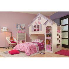 Oeko Furniture Amberly Dollhouse Bed: Kids' & Teen Rooms : Walmart.com