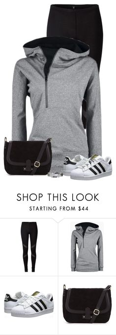 """""""Untitled #499"""" by denise-schmeltzer ❤ liked on Polyvore featuring adidas Originals and Emporio Armani"""