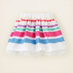 baby girl - bottoms - striped dressy skirt | Children's Clothing | Kids Clothes | The Children's Place