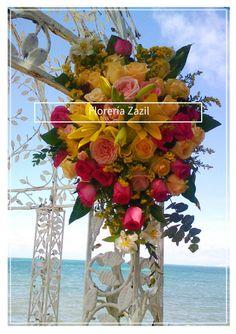 BODAS EN CANCUN | Diseño floral para bodas en Cancún y Riviera Maya.  #floreriasencancun #floreriaencancun #floreriazazil #cancunflorist  #gazebodecor
