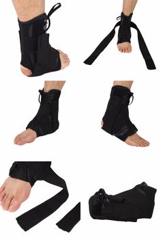 [Visit to Buy] 1Pcs Ankle Support Fixed Sleeve Strap Walking Foot Sprain Support Braces Protector Treatment For Ankle Fractures Rehabilitation #Advertisement