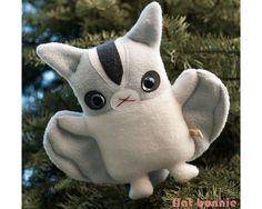 Sugar Glider stuffed animal - Handmade plush Sugar Glider