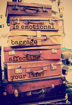 Is emotional baggage affecting your life? Baggage. It's nice to have when you're going on a trip. But what about emotional baggage? We all have it. So how do you deal with it Biblically?