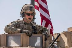 U.S. Army soldiers, with Alpha Company, 1st Battalion, 6th Infantry Regiment, 2nd Armored Brigade Combat Team, 1st Armored Division, conduct area security in the Central Command (CENTCOM) area of responsibility, March 6, 2021. The soldiers are in Syria to support the Combined Joint Task Force-Operation Inherent Resolve (CJTF-OIR) mission. The CJTF remains committed to working by, with, and through our partners to ensure the enduring defeat of Daesh. (Torrance Saunders/U.S. Army) Used Aircraft, March 6, Paratrooper, Army Soldier, Syria, Division, Soldiers, Wwii, Military