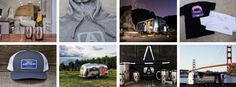 Official Airstream merch - to help YOU Live Riveted.