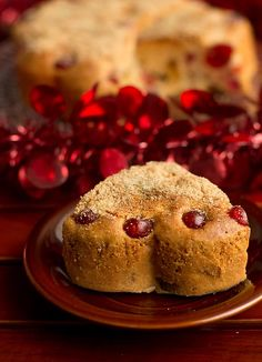 No Butter Eggless Fruit Cake Recipe with stepwise instructions.