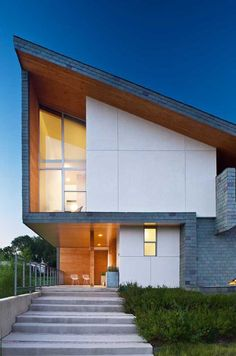 Beautiful sustainable home within an urban reserve  by Vincent Snyder Architects