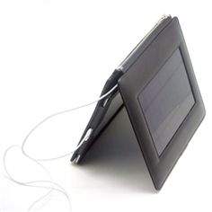 Solar Powered Tablet Charger! must have on McGarryGadGets.com!