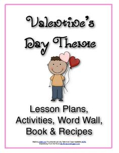 V is for Valentine's Day Themed Lesson Plans for Preschool (or Kindergarten supplemental material)