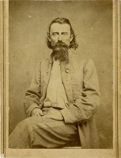 """Joseph Orville """"JO"""" Shelby, Confederate General-When the war ended, Shelby and his men refused to admit defeat, and sank their battle flag in the Rio Grande River. In 1867 he became a key figure in helping heal the wounds of the Civil War. In 1892, Pres. Grover Cleveland appointed him US Marshall of the Western District of Missouri, a position he held until his death on February 13, 1897."""