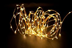 XJE Dimmable Led String Lights Copper Wire Starry Light Decor Rope Lights with UL certified Power Adapter and Remote Controller For Christmas Party Indoor Outdoor Gardens Holiday180leds30ft >>> Continue to the product at the image link.