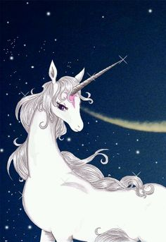The Last Unicorn. When the time is right I would love to get a tattoo of this story <3