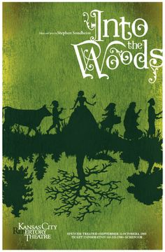 Beautiful into the woods poster!