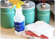 DIY disinfectant cleaner