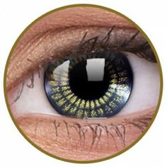 Lentile de contact colorate aurii Black Gold - http://lensa.ro/lentile-contact-colorate/stars-jewel/black-gold