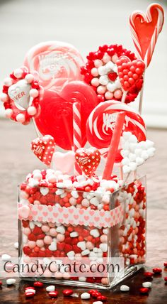 Valentine's Day Candy Buffet Tutorial
