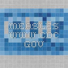 Measles - www.cdc.gov