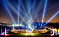 Olympic Stadium Berlin 75 Years by Marcus Klepper on Cool Places To Visit, Oh The Places You'll Go, Great Places, Places To Travel, Olympia, Berlin Ick Liebe Dir, Berlin Photography, West Berlin, European Destination