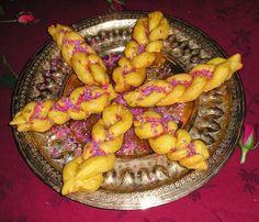 Dafaîr - Deep-fried braids - An arab recipe from the thirteenth century