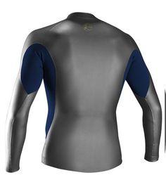 Oneill Mens Wetsuit O riginal Front Zip Long Sleeve Jacket 8cfffd677