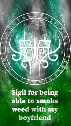Wolf Of Antimony Occultism • Can I have a sigil for, I can smoke weed with my...