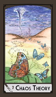 Science Tarot Deck - 7 of Swords