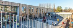 Park School | Binst Architects | Archinect Kindergarten Graduation, Kindergarten Class, Primary School, Elementary Schools, Letter To Parents, Parent Letters, Sport Hall, Physical Education Games, School Bulletin Boards
