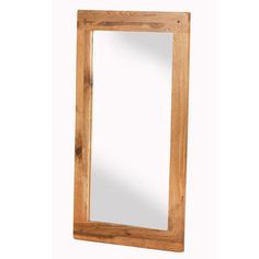 Cherbourg Oak Wall Mirror