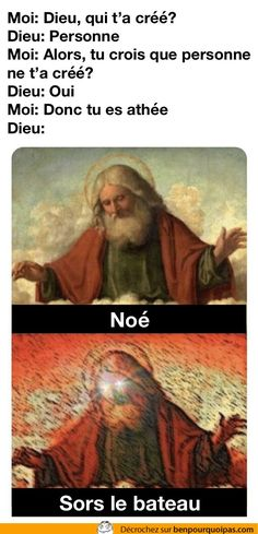 Me: God, who created you? God: Yes Me: So you're an atheist God: - iFunny :) Agnostic Quotes, Atheist Jokes, Stupid Funny Memes, Funny Relatable Memes, Haha Funny, Funny Gifs, Funny Humor, Religion Memes, Anti Religion
