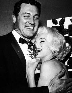 Rock Hudson and Marilyn Monroe