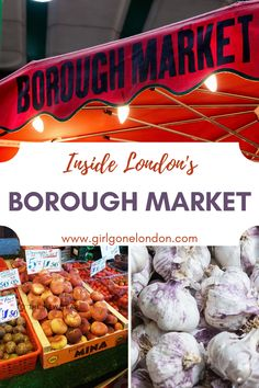 Check out London Borough Market for delicious sights and smells and wonderful lunch options. Located near London Bridge, this market is a London must-do. Backpacking Europe, Europe Travel Tips, Travel Deals, Europe Packing, Traveling Europe, Packing Lists, Travel Hacks, Travel Packing, European Travel
