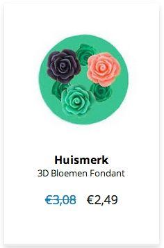 3D Bloemen Fondant € 2,49 normaal € 3,08 #Sale #Korting #Actie #Aanbieding Klik op www.OVStore.nl/nl/collection/offers