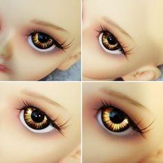 demons eyes bjd doll eyes fantasy eyes goth eyes unique resin eyes 16mm vampire eyes demons eyes doll eyes no pupil eyes