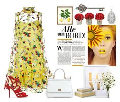 """""""Set °°°"""" by alexbtni ❤ liked on Polyvore featuring Erdem, Paul Andrew and Dolce&Gabbana"""