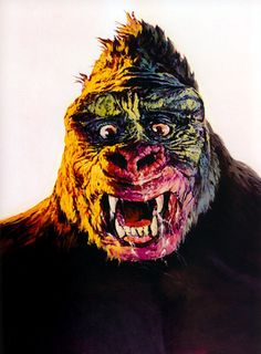 A collection of monster portraits painted by the legendary Basil Gogos. Basil Gogos is an American illustrator best known for his striking portraits of movie Boris Karloff Frankenstein, Bride Of Frankenstein, Zachary Quinto, Spock, King Kong, London After Midnight, Lugosi Dracula, The Man Who Laughs, Tusken Raider