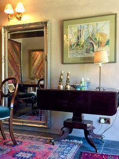 Country Breakfast, West Cornwall, Granite, Oversized Mirror, Room, Furniture, Design, Home Decor, Bedroom