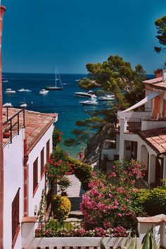 Scenic view on the Costa Brava of Begur, Costa Brava, Spain Places Around The World, Oh The Places You'll Go, Places To Travel, Places To Visit, Travel Stuff, Travel Destinations, Dream Vacations, Vacation Spots, Begur Costa Brava