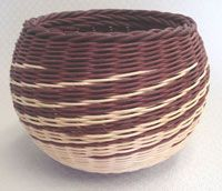 Double Rod Bowl on Round Slotted Wooden Base Pattern - by Wagner http://catalog.countryseat.com/doublerodbowlonroundslottedwoodenbase-bywagner.aspx