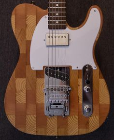 Wallace Detroit Guitars – Made from reclaimed wood sourced locally, usually over 100 years old, gives the guitars a vintage sound only available in older instruments.