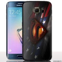 Etui de protection galaxy s6 Superhéros - Housse silicone - Coque Rigide pour smartphone s6