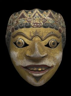 Regional Masks Java - Topeng Mask, Early 20th...